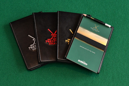 PRG Yardage book holder