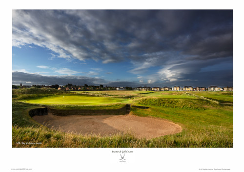 Prestwick Golf Club '17th Alps' print by Iain Lowe