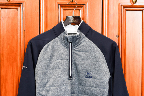 Glenmuir Arran pullover - Navy