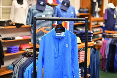 Kjus Dexter 2.5 Waterproof Jacket - Strong Blue (1/2 Zip)