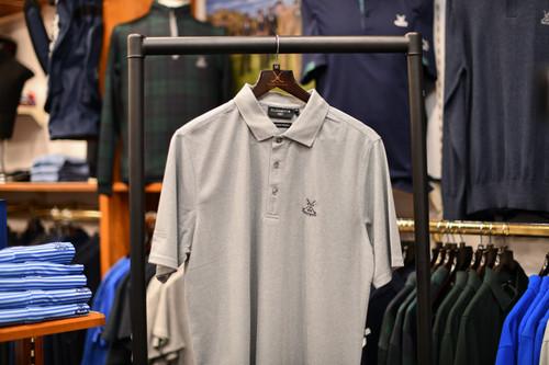 Glenmuir Deacon Polo Shirt - Light Grey Marl