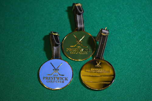 Prestwick Metal Bag Tag