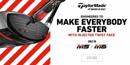 Taylormade M5 and M6 at Prestwick Golf Club