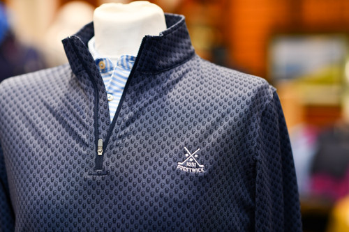 ​Peter Millar Collection- November 2020, Prestwick GC pro Shop, Scotland.