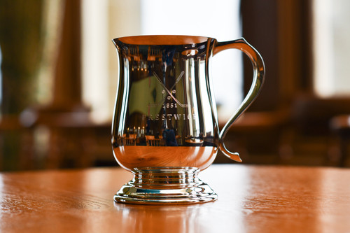 Silver or Pewter Pint Tankards