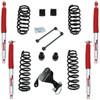 """TeraFlex 2.5"""" Coil Lift w/ Rancho RS9000XL Shocks for Wrangler JK 2007+"""