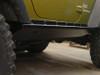Rock Hard 4x4 RH-6006-S Boat Side Rock Slider w/ Smooth Plate for JK 4 door