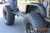 Rock Hard 4x4 RH-6007-S Boat Side Rock Sliders with Smooth Plate 2 Dr JK