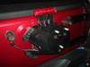 TeraFlex Spare Tire Extension Bracket Mounted on Jeep Wrangler JK