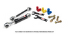 Flex Connect Sway Bar Link Kit with Springs and Hardware