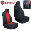 Bartact MSSCTJ9702F Front Pair of Mil-Spec Seat Covers for Jeep Wrangler TJ 1997-2002