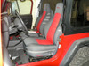Bartact Mil-Spec Front Seat Cover Pair for Jeep Wrangler TJ