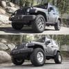 "2.5"" TeraFlex Coil Lift, Method Race Wheels, and 35"" Nitto Ridge Grappler Tires."