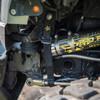 Rock Krawler Sway Bar Straps Mounted on Jeep Wrangler JK