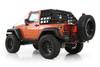 Smittybilt CRES2 HD Cargo Restraint Mounted on Jeep Wrangler JK 2 Door