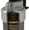 """TeraFlex 02-01-21-400-002 Falcon Series 2.1 Monotube Shock Absorber Kit 1.5""""-2"""" Lift for Jeep Wrangler JK 2 Door 2007-2018"""