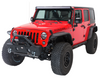 Fishbone Offroad FB22001 Front Stubby Bumper for Jeep Wrangler JK 2007-2018