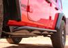 Rock Hard 4x4 RH-90104 Patriot Series Tube Slider Rocker Guards | Angled Up for Jeep Wrangler JL 4 Door 2018+