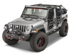 Fishbone Offroad FB22090 Mako Stubby Front Bumper for Jeep Wrangler JL 2018+