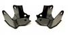 EVO Manufacturing 3026B ProTek Rear Shock Skids for Jeep Wrangler JL 2018+
