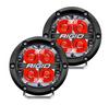 Rigid Industries 36113 360 Series Pod Light Pair in Red Backlight