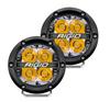 Rigid Industries 36113 360 Series Pod Light Pair in Amber Backlight