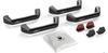 TeraFlex 4830400 Hard Top Handle Kit for Jeep Wrangler JK 2007-2018