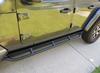 Rock Hard 4x4 RH-80106 Patriot Series Tube Slider Rocker Guards Angled Down for Jeep Gladiator JT 2020+