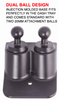 Bulletproof Mounting Solutions BP-JK2UNI Universal Dash Mount for Jeep Wrangler JK 2011-2018