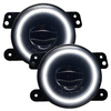 Oracle Lighting 5846-001 High Performance 20W LED Fog Lights with White Halo for Jeep Wrangler JK, JL & Gladiator 2007+
