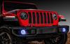 Oracle Lighting 1215-001 Waterproof LED Fog Light Halo Kit in White for Jeep Wrangler JL 2018+
