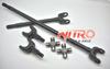 Nitro Front Chromoly Axle Kit w/ 1350 Type U-Joints (Wrangler JK 2007-2018)