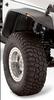 Bushwacker 10053-07 Front Flat Style Fender Flares for Jeep Wrangler JK 2007-2018