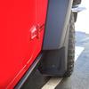 Rugged Ridge 11642.10 4-Piece Splash Guard Front & Rear Kit for Jeep Wrangler JK 2007-2018
