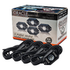 Oracle Lighting 5875-001 White Underbody Wheel Well Rock Light Kit- 4 Pack