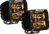 Rigid 20204 Radiance LED Pod Light Pair in Amber