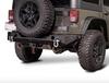 Reaper Off-Road JKRBX2A-B Immortal R5 Rear Bumper for Jeep Wrangler JK 2007-2018