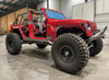 Motobilt MB1158 Frame Mounted Rocker Guards for Jeep Wrangler JL 4 Door 2018+