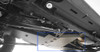 Rock Hard 4x4 T-Case Skid Interlocked with Oil Pan Skid on Jeep JK