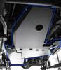 Rock Hard 4x4 Gas Tank Skid Interlocking with Oil Pan/Transmission Skid on Jeep Wrangler JK 2 Door