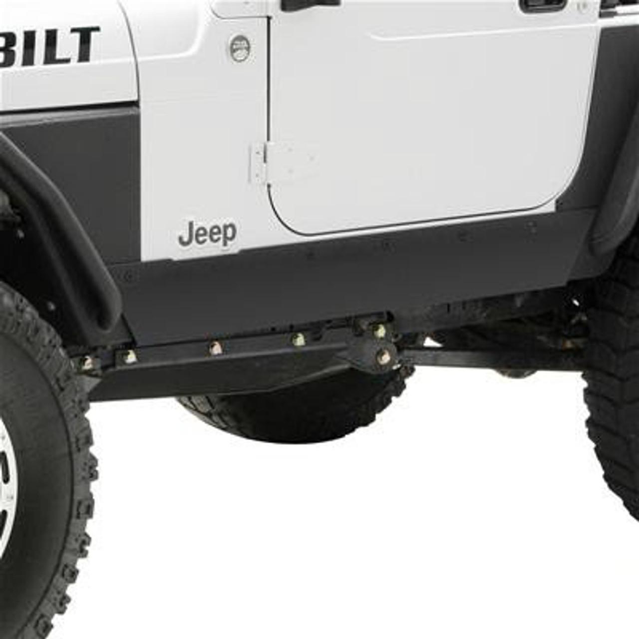 Smittybilt 76870 XRC Rocker Guard Fits 1997-2006 Jeep Wrangler LJ Wrangler TJ