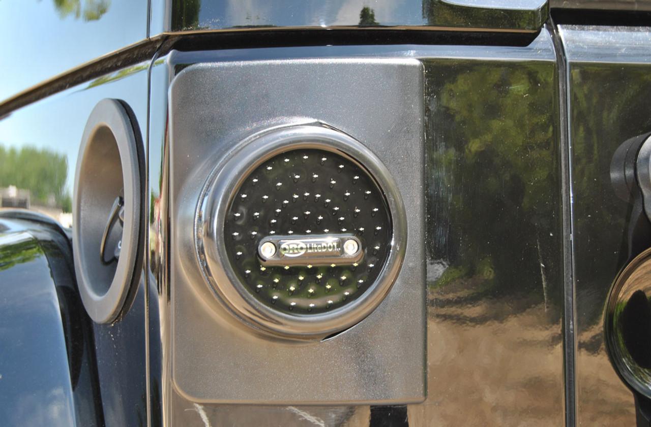 ORO LD-RRW2\LP LiteDOT LED Taillights & Brackets Wrangler JK 2007+
