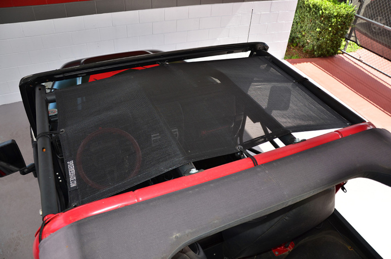 SpiderWebShade TJKini Sun Shade Top for Wrangler TJ & Unlimited 97-06