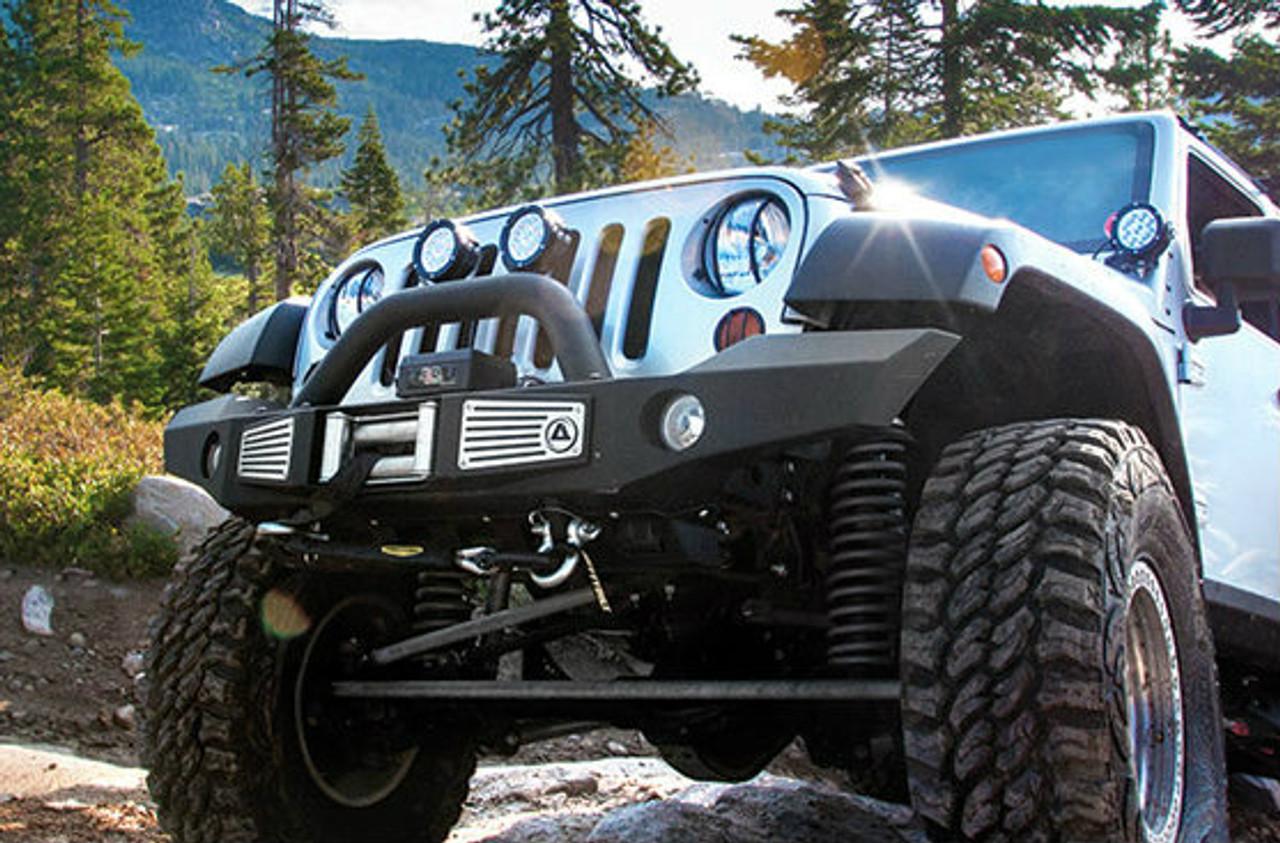 Smittybilt 76892 Atlas XRC Front Bumper on Jeep JK