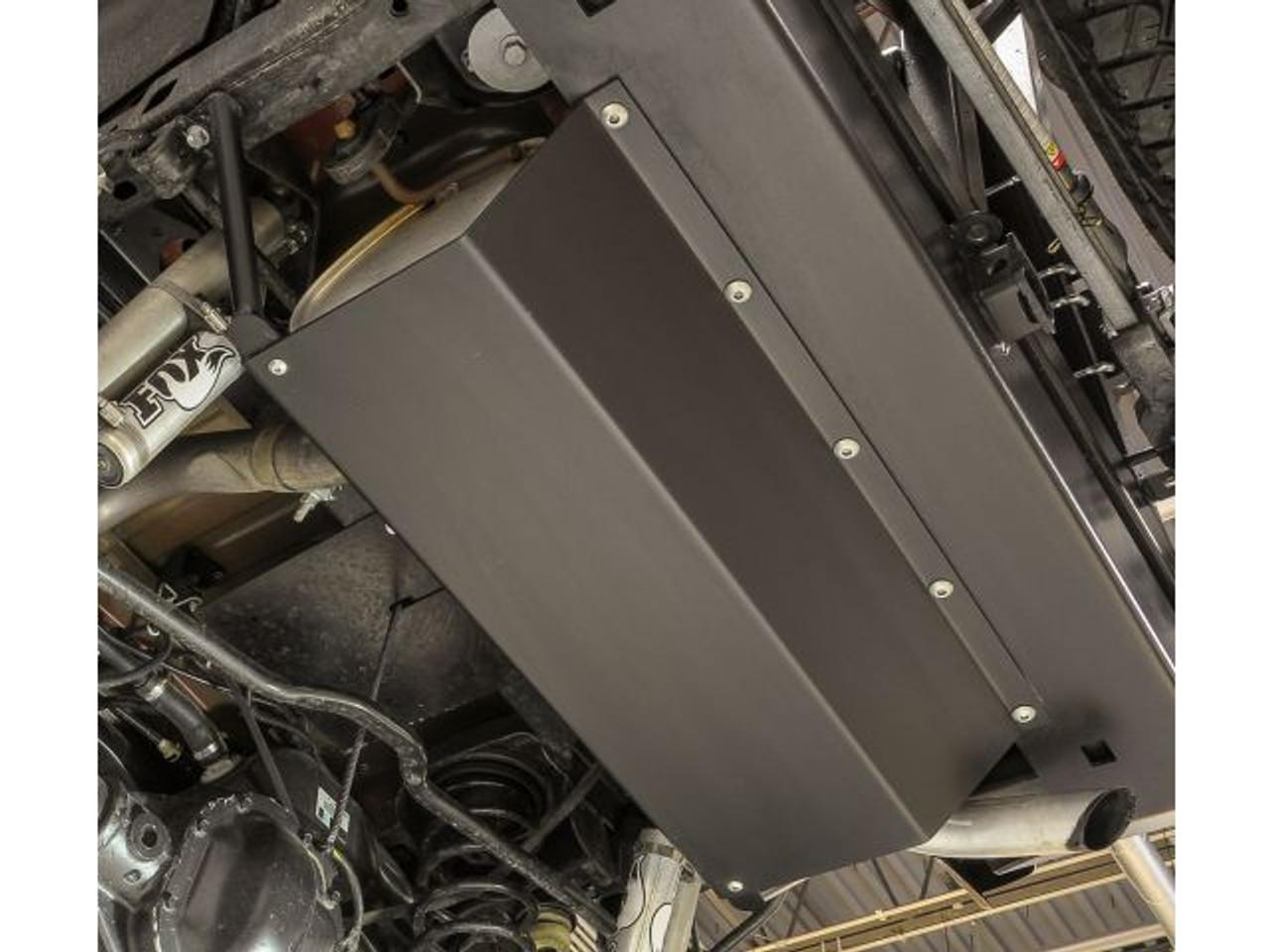 Rock Hard 4x4 RH-5001-A Muffler Skid Plate for JK in Steel