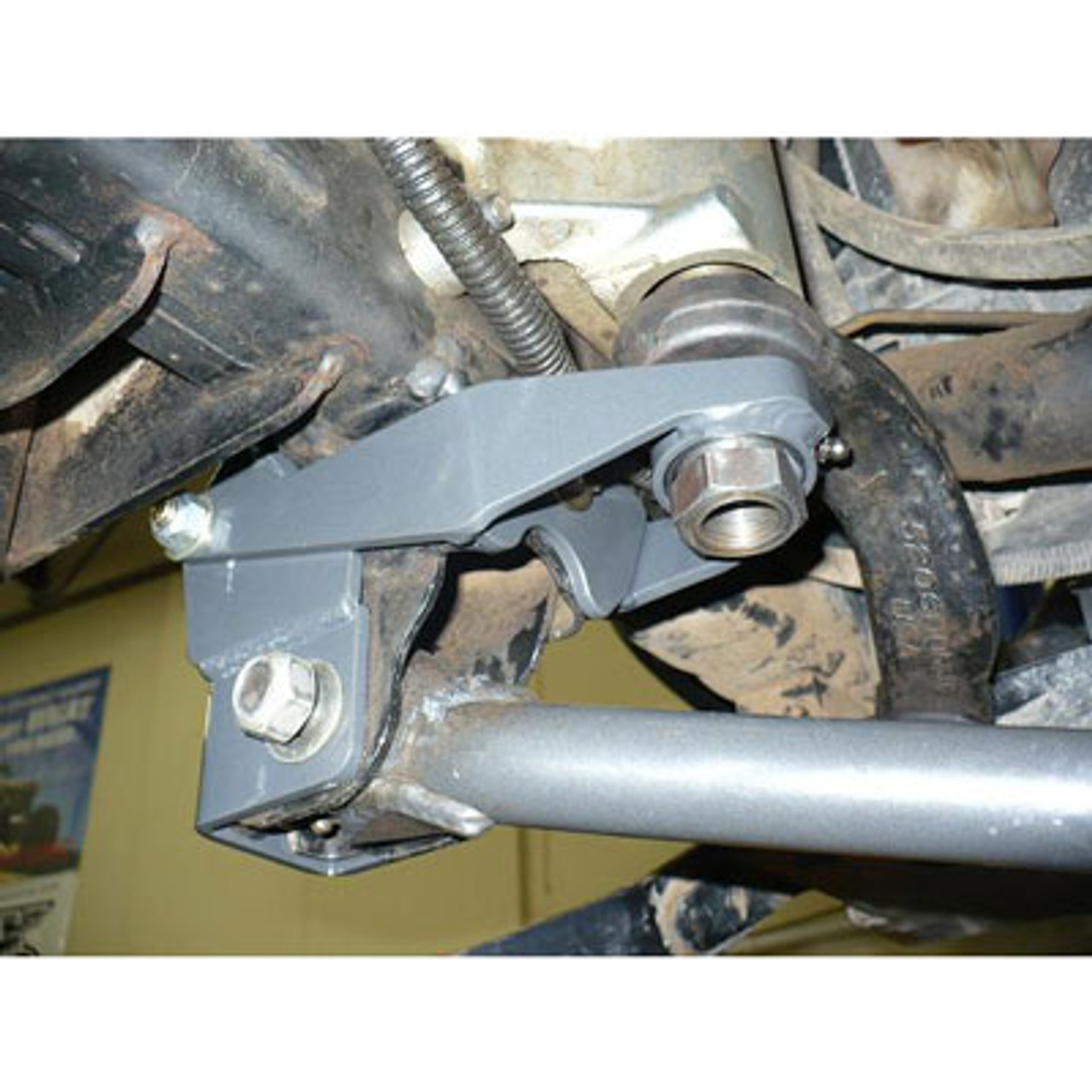 Synergy 8069 Front Track Bar and Sector Shaft Brace Kit for JK