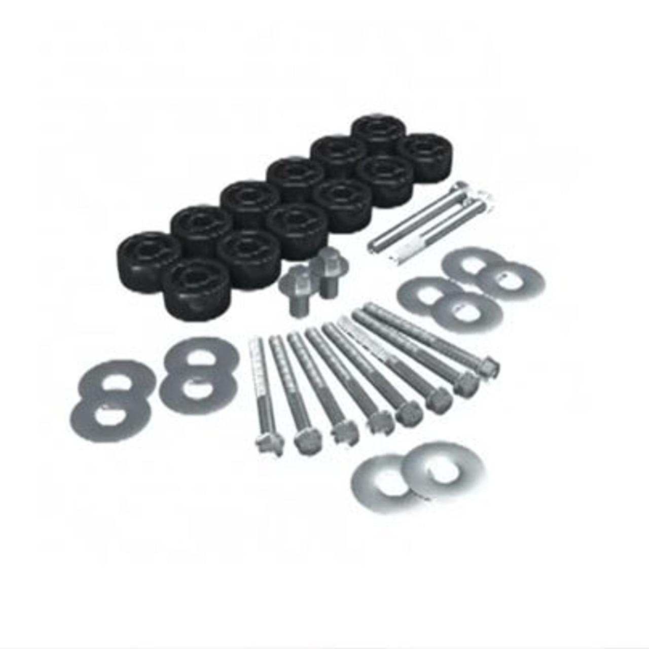 """Teraflex 4152100 1.25"""" Body Lift Kit for JK"""