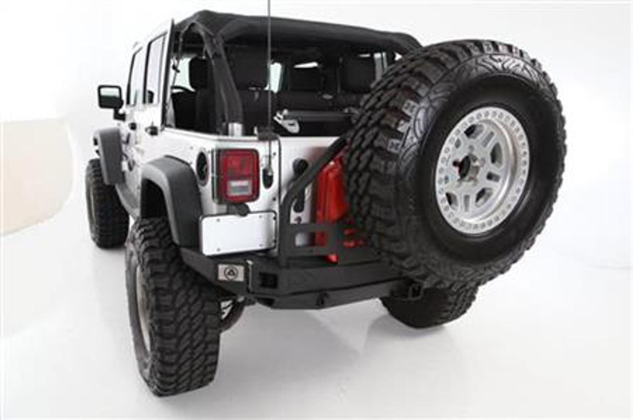 Smittybilt 76896 XRC Atlas Rear Bumper with Tire Carrier