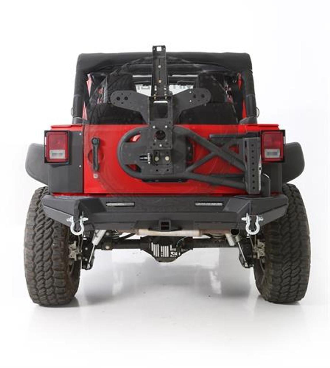 Smittybilt 76857 Gen2 Bolt-On Tire Carrier for Jeep Wrangler JK 2007-2016