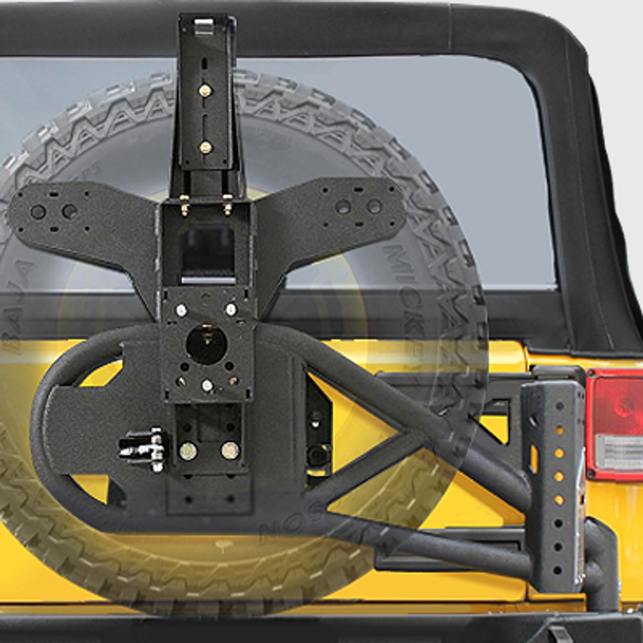 Smittybilt 76857 Gen2 Bolt-On Tire Carrier